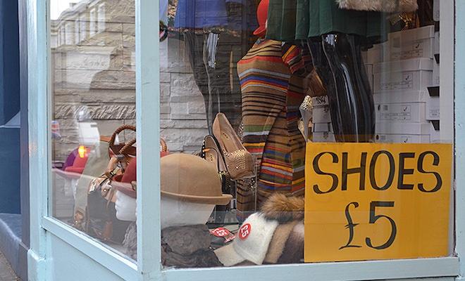 comprare scarpe a Londra