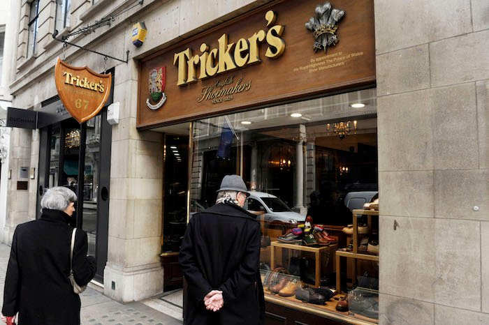 Tricker's shoe shop