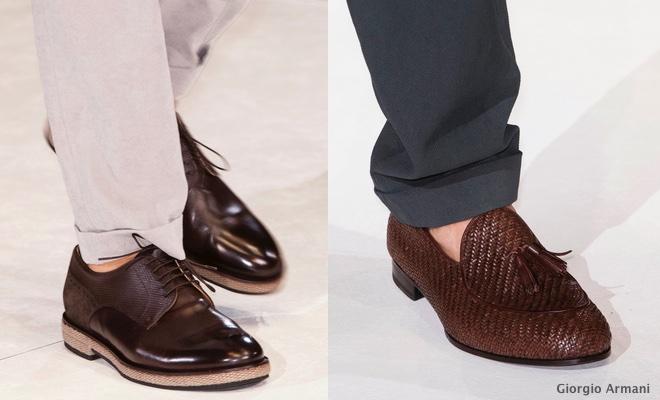 scarpe Armani primavera 2015