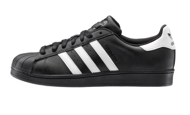 superstar adidas bianche e nere