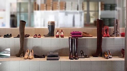 Milano negozio scarpe