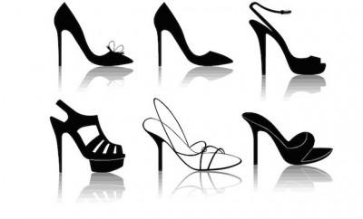 collage scarpe donna