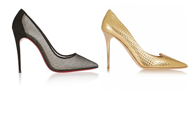 Stiletto louboutine jimmy choo