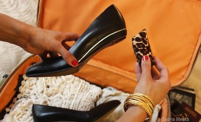 Tanya Heath scarpe tacco intercambiabile