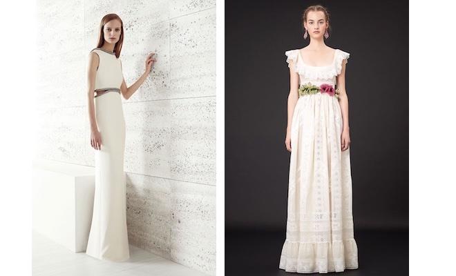 abiti bianchi Gucci-Valentino