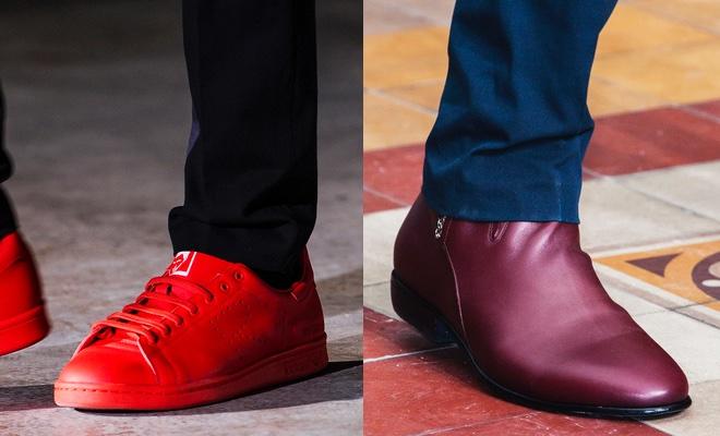 come abbinare le scarpe rosse uomo