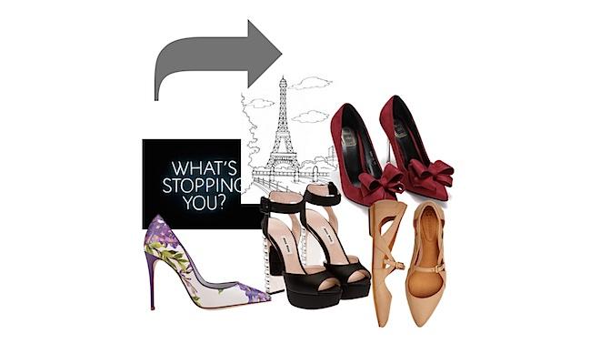 comprare scarpe a Parigi