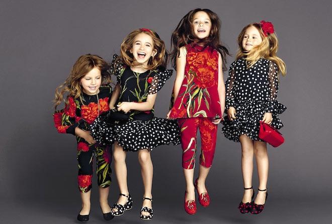 dolce e gabbana vestiti bambini