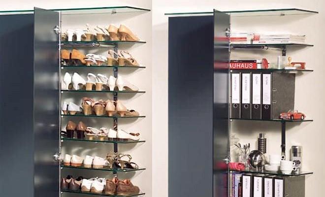 Dove mettere le scarpe? 10 soluzioni semplici ma geniali