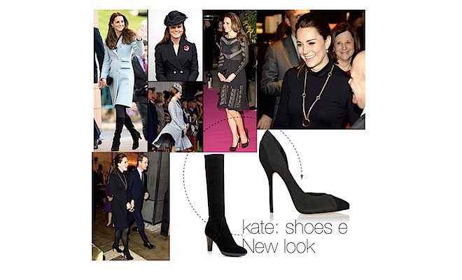 kate middleton look e scarpe