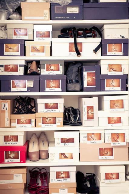 scarpe scatole foto
