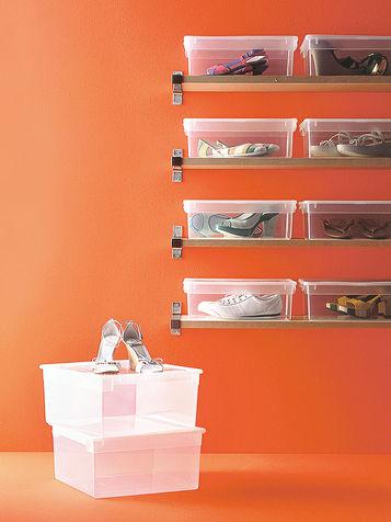 Dove mettere le scarpe 10 soluzioni semplici ma geniali - Scatole scarpe ikea ...