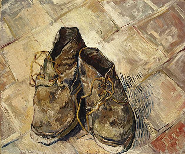 scarpe di van gogh