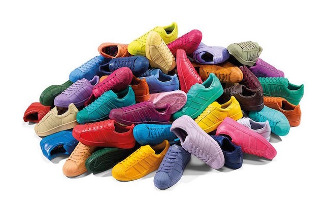 Adidas Pharrell superstar 50 colori