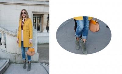 Olivia Palermo scarpe e vestiti