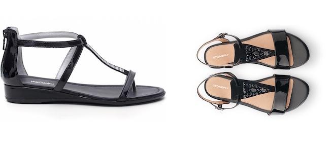 Infradito eleganti estate 2015 per lei scarpe alte scarpe basse - Sandali bassi nero giardini ...
