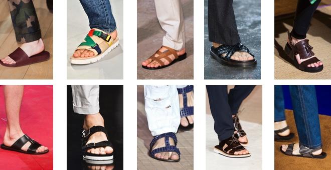 Sandali ciabatte estate uomo 2015