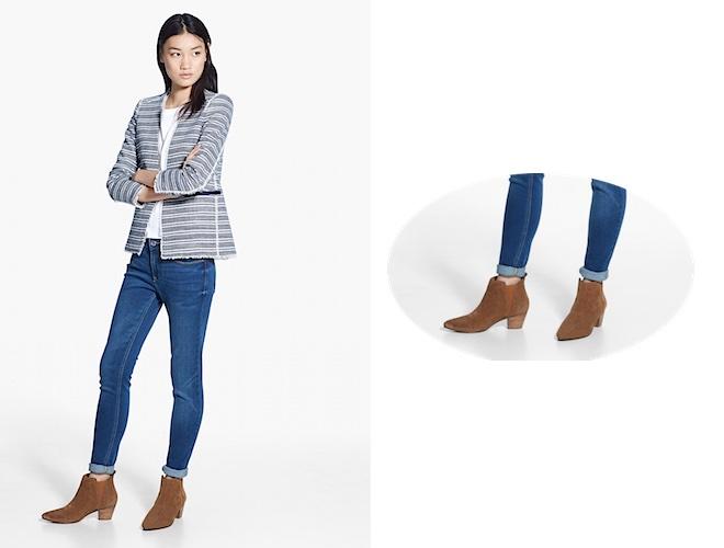 Scarpe jeans mango estate 2015