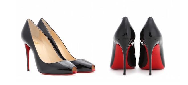 scarpe con la suola rossa Christian Louboutin