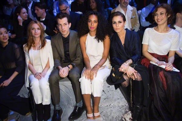 Solange Knowles ospite sfilata H&M inverno 2015