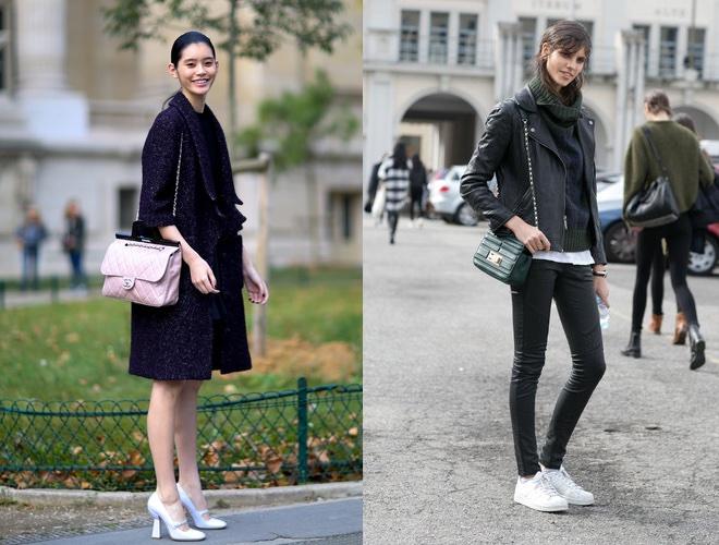 Street style 2015 scarpe bianche