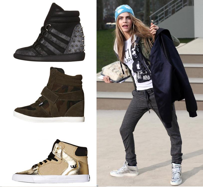 cara delevingne scarpe