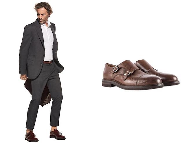 abito e scarpe abbinamento