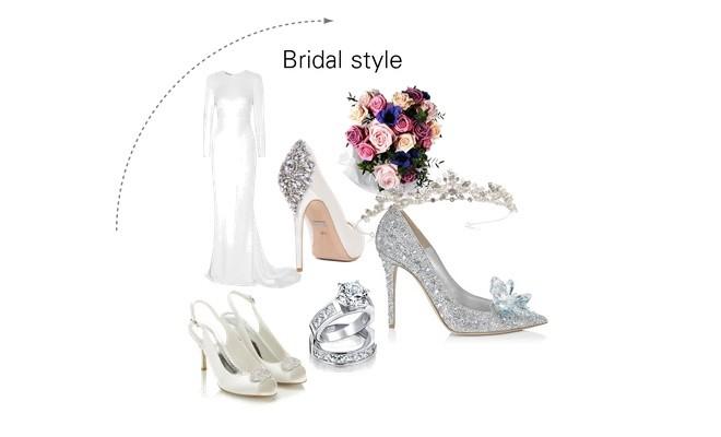 Quanto costano le scarpe da sposa  Ecco i prezzi - Scarpe Alte - Scarpe  basse a4e3528aa1a