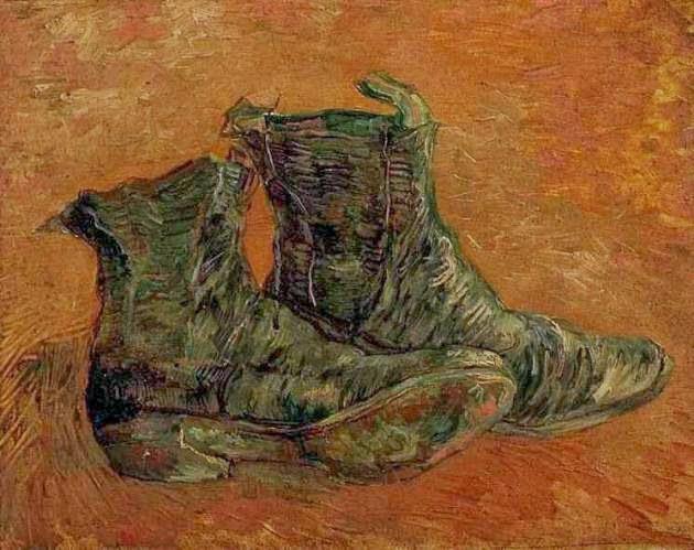 van Gogh, Par de Zapatos 2, 1886
