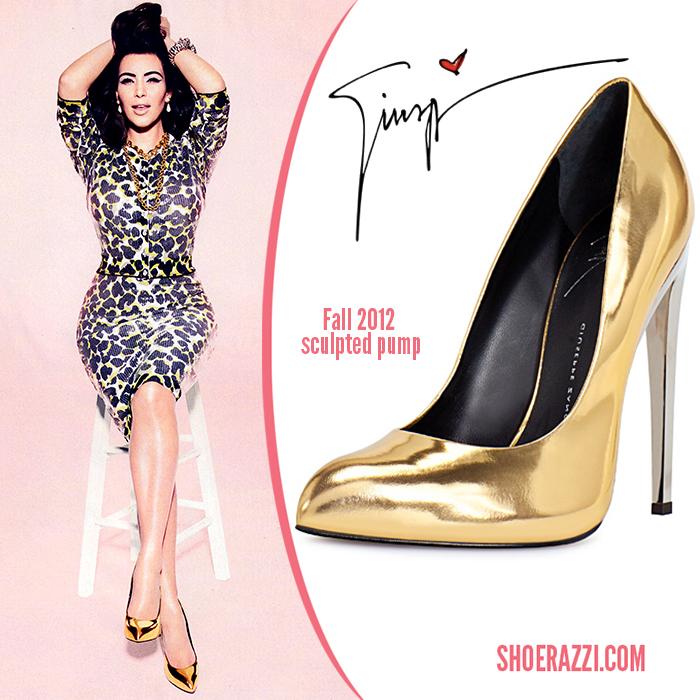 Giuseppe-Zanotti-gold-pump-Kim-Kardashian