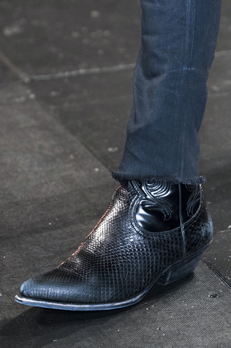 scarpe a punta uomo