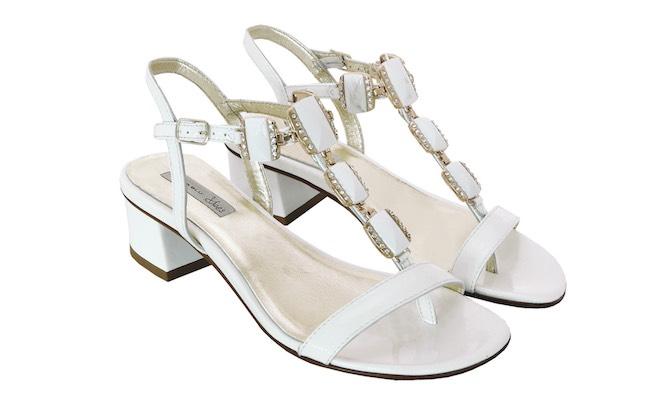 Sandali bianchi estate 2015 Tosca Blu