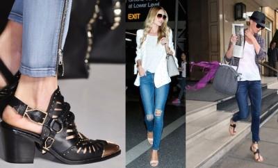 Sandali e jeans 2015