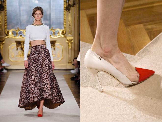 Scarpe e vestito Elisabetta Franchi