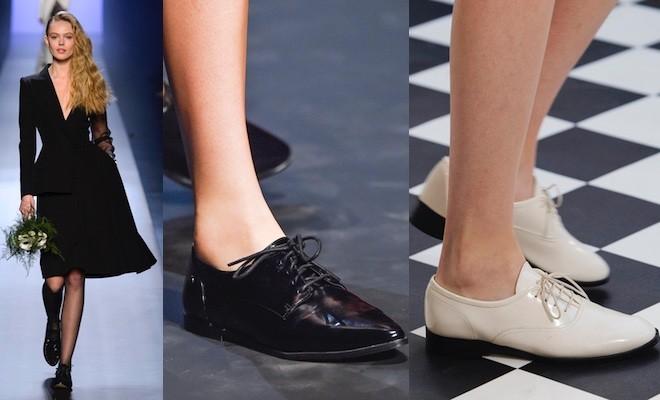 Moda donna  10 idee per abbinare le scarpe stringate (Foto) - Scarpe Alte -  Scarpe basse a969d48f933