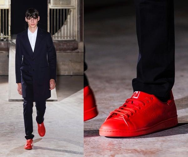 Scarpe rosse uomo estate 2015
