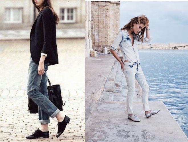 Moda donna  10 idee per abbinare le scarpe stringate (Foto) - Pagina ... 568eef67361
