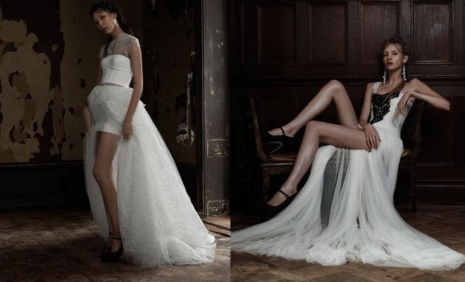 Vera Wang sposa 2016 scarpe nere