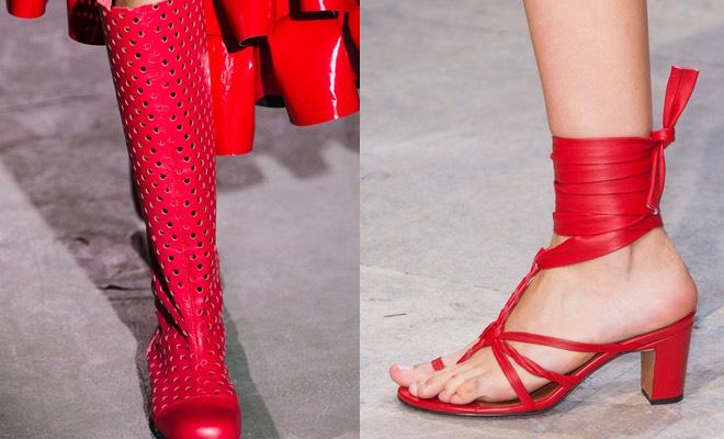 scarpe rosse estate 2015