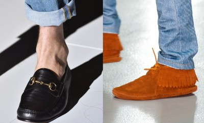 uomo scarpe e jeans