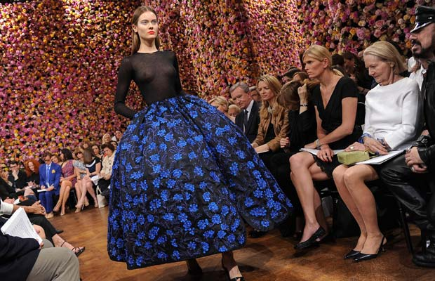 Raf Simons Haute Couture Dior 2012
