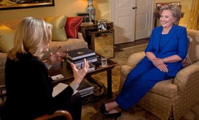 Hilllary Clinton intervista