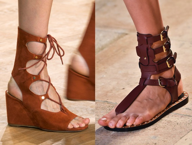 Sandali gladiatore estate 2015