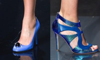 Scarpe e sandali blu elettrico estate 2015