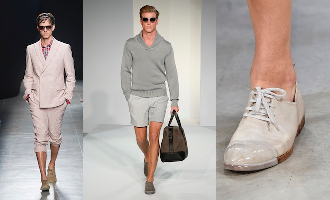 moda uomo estate scarpe bermuda