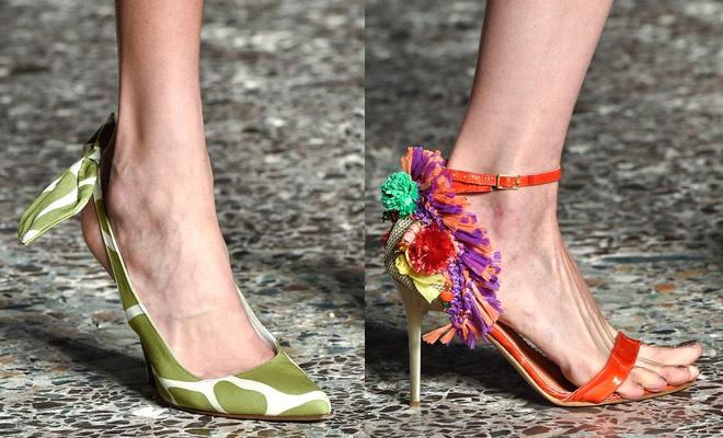 sandali e scarpe Stella Jean p-e 2015
