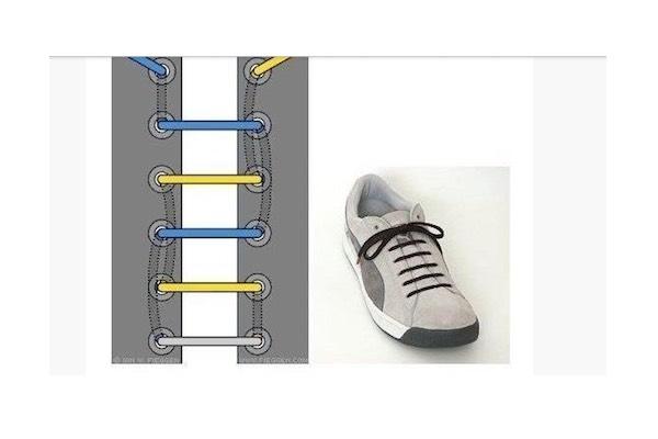 allacciare le sneaker