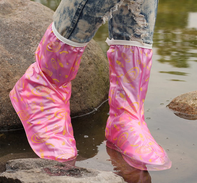 copriscarpe da pioggia