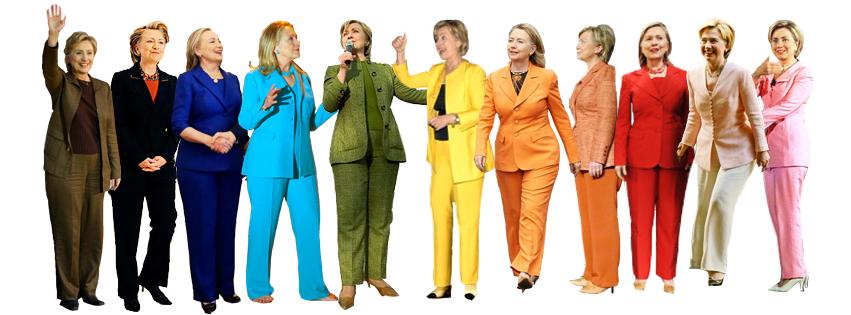 Hillary Clinton look
