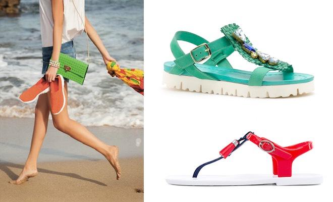 estate scarpe da mare